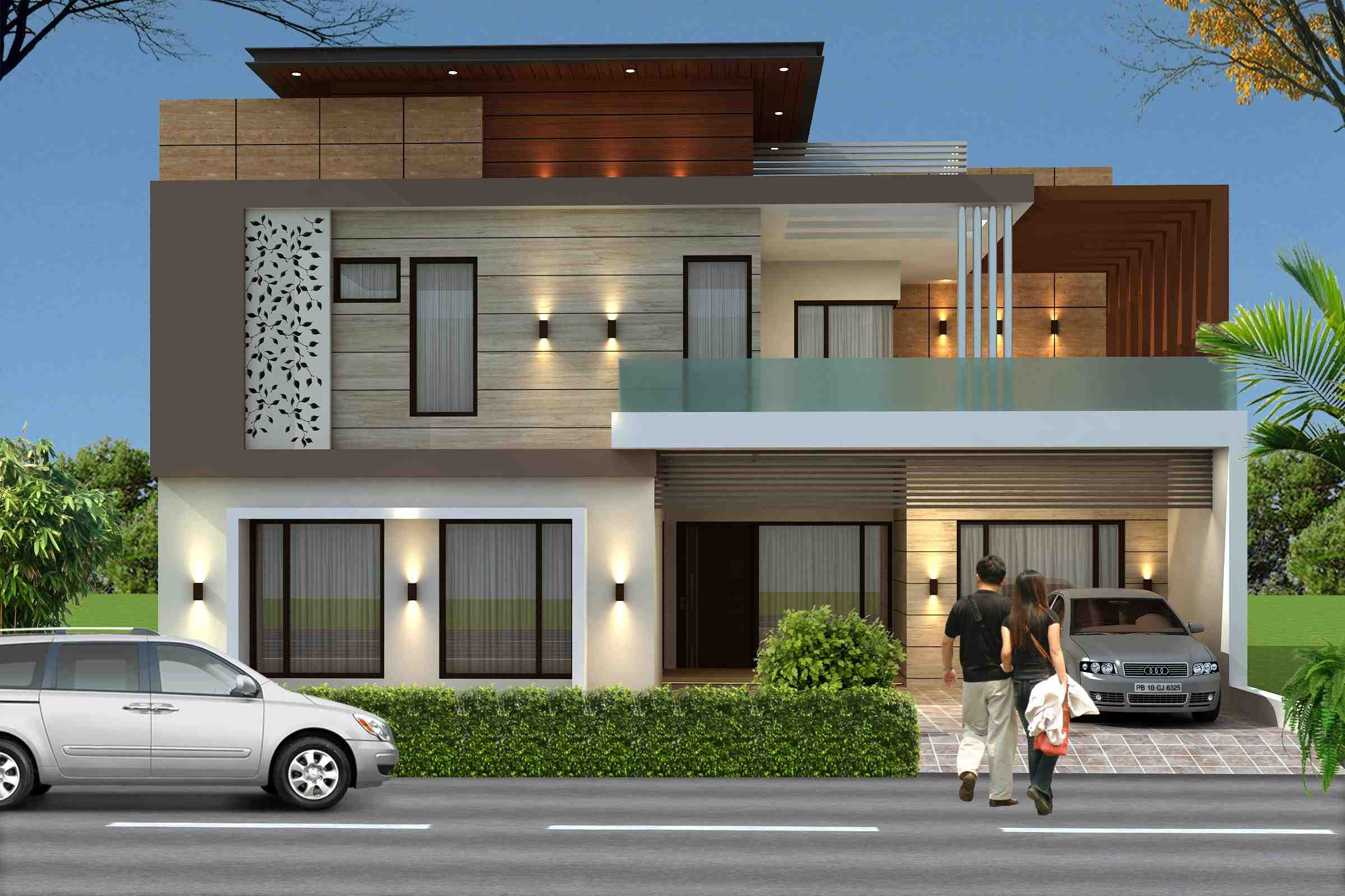Front Elevation Jalandhar : Projects jagmohan singh associates architects in